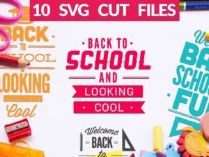 Back to School SVG Bundle
